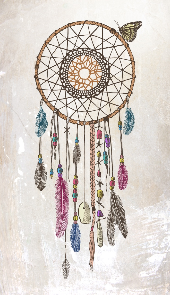 Dreamcatcher clipart wallpaper. Drawing tumblr at getdrawings