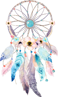 Dreamcatcher transparent floral. Popular and trending stickers
