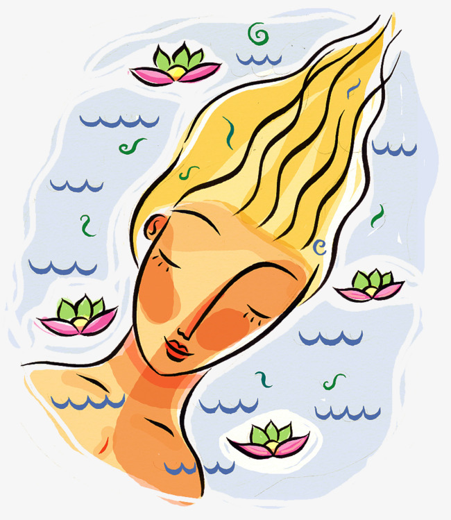 Dreaming clipart fall asleep. The blonde girl in