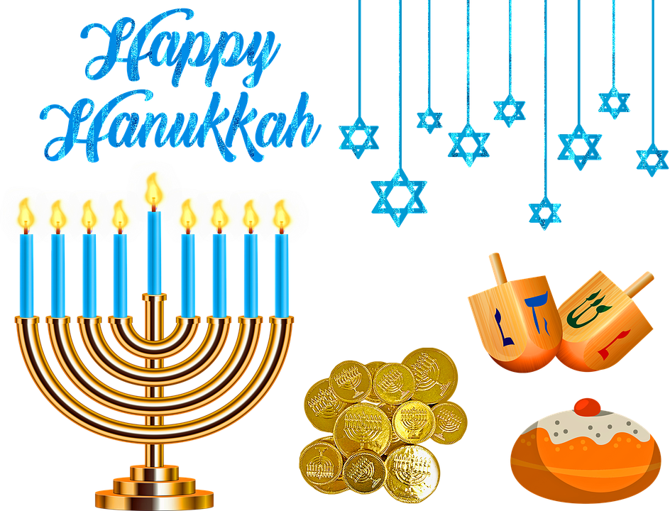 Hanukkah clipart hanukkah kid. Celebrating the jewish festival