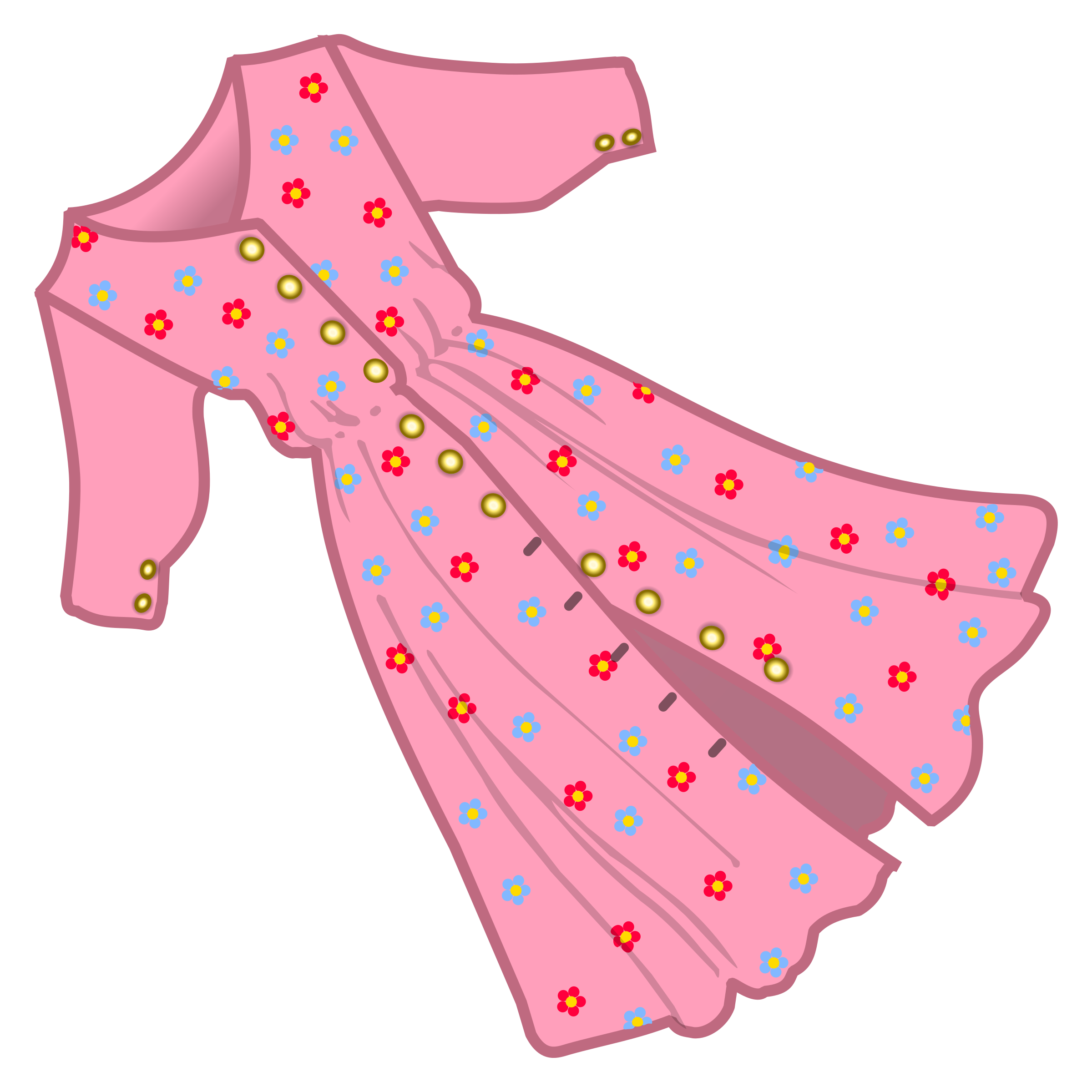 Dress cartoon png. Coloured icons free and