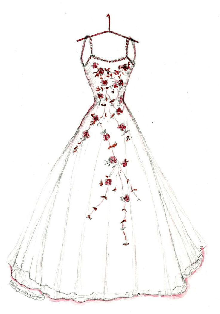 Dress clipart easy. Photos how to draw