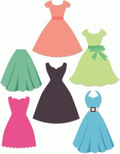 Dress clipart frock. Instant download white wedding