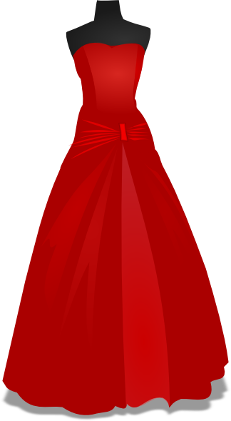 Dress clipart frock. Wedding gown hi pinterest