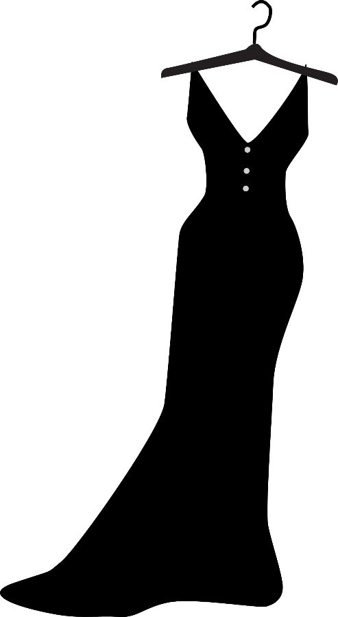 Hanger clipart formal dress. Best clothes ideas on