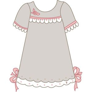 dress clipart mini dress