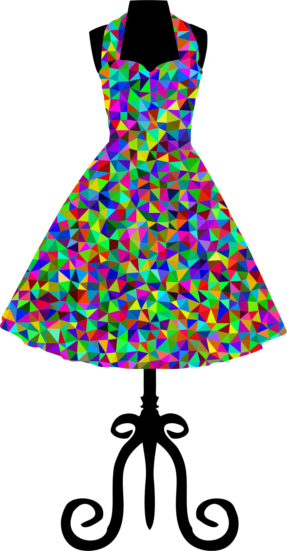 Dress clipart party dress. Hanger clip arts for