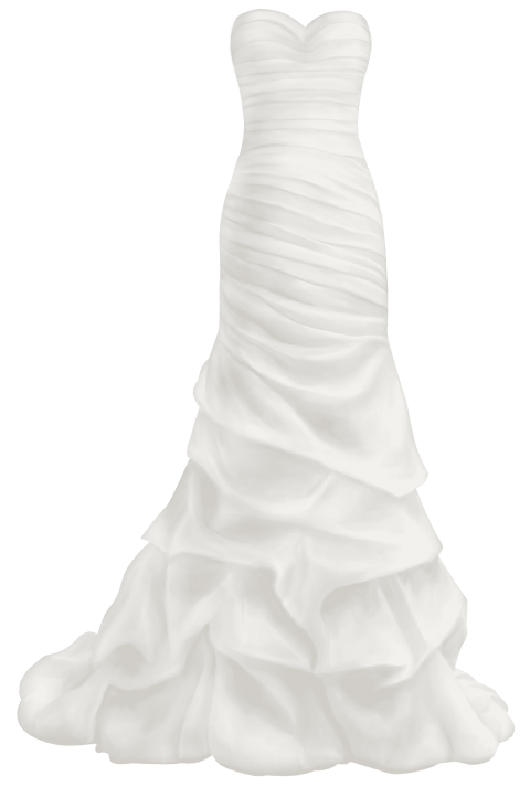 Dress clipart wedding dress. Download beautiful png photo
