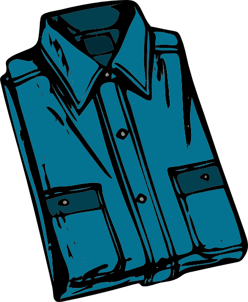 Clothing shirt clip art. Clothes clipart png image library stock