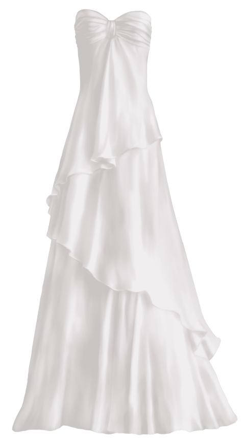 Dress clipart wedding dress. Download elegant png photo