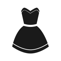 Dress icon png. Free download fashion icons