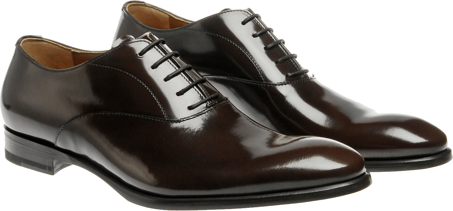 Tap shoes png. Pair of polished leather