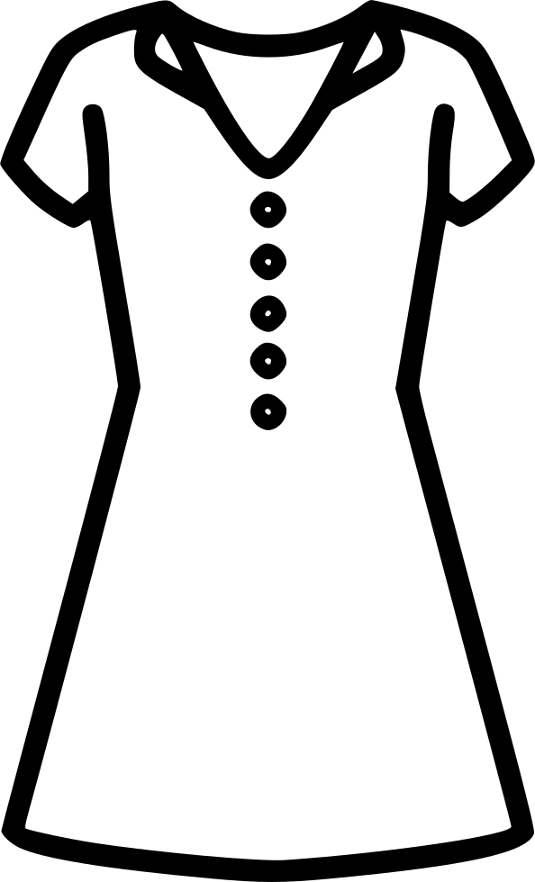 Dress svg drawing. Png icon free download