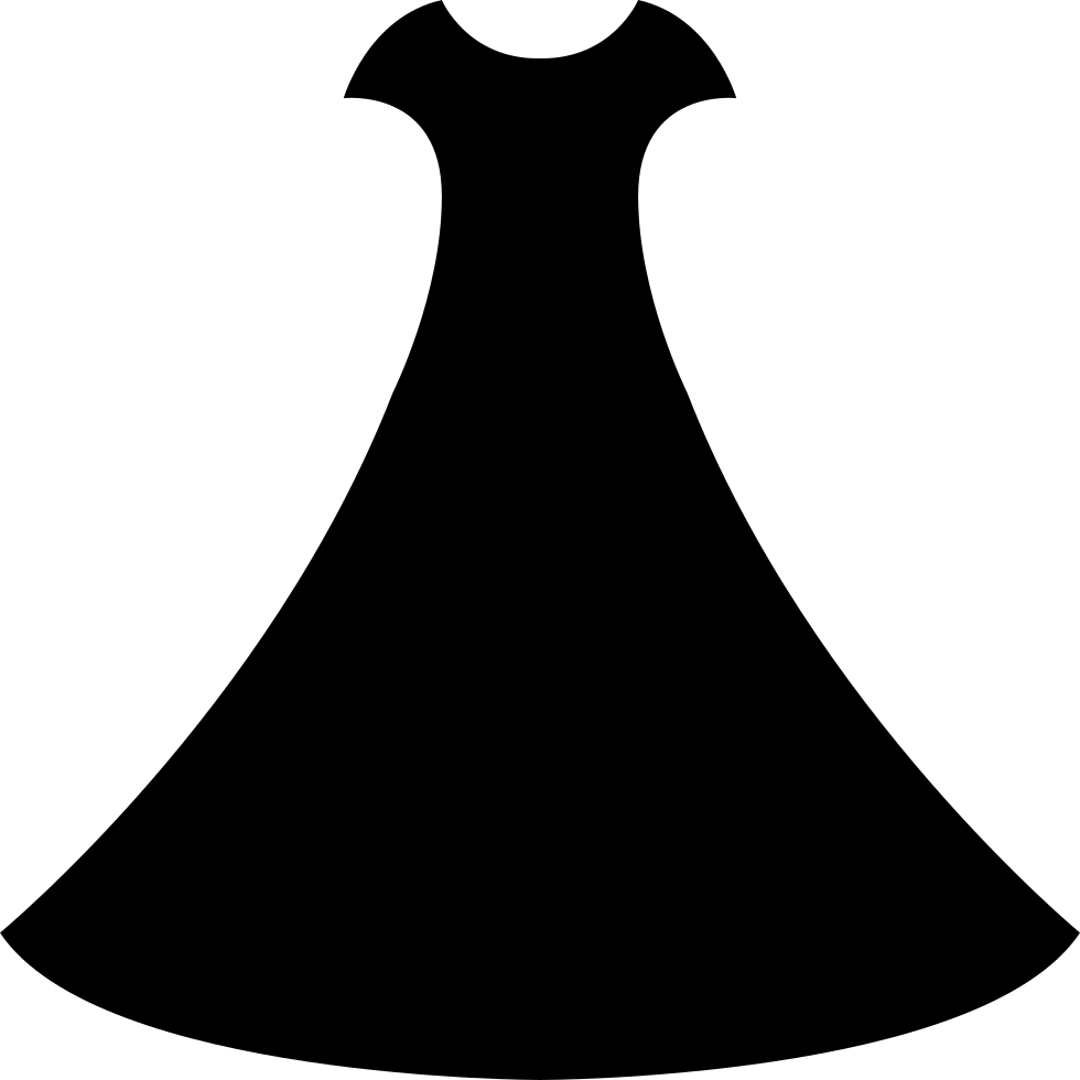 Dress svg free wedding. Png icon download onlinewebfonts