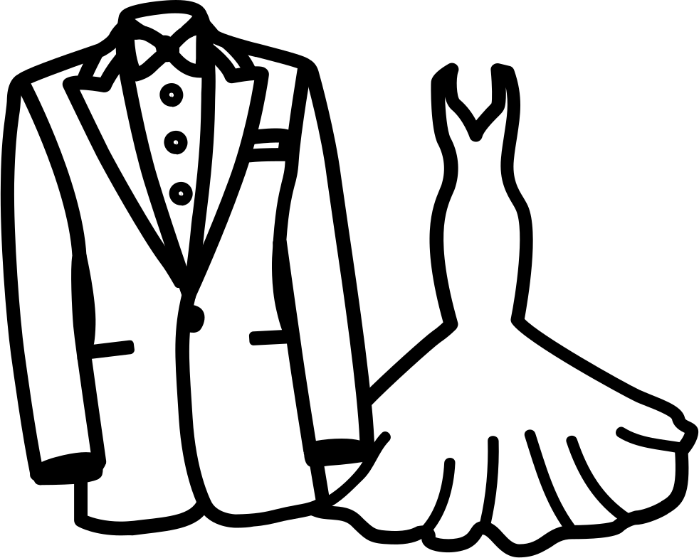 Dress svg wedding. Png icon free download