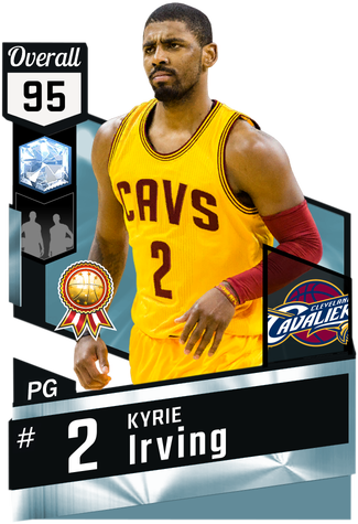 Nba drawing kyrie irving. Myteam diamond card kmtcentral