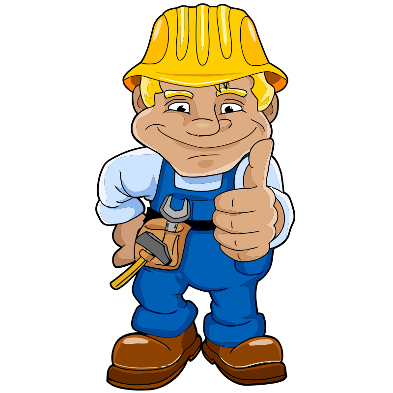 Workers clipart cement worker. Free construction cliparts download