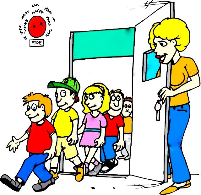 drill clipart school safety