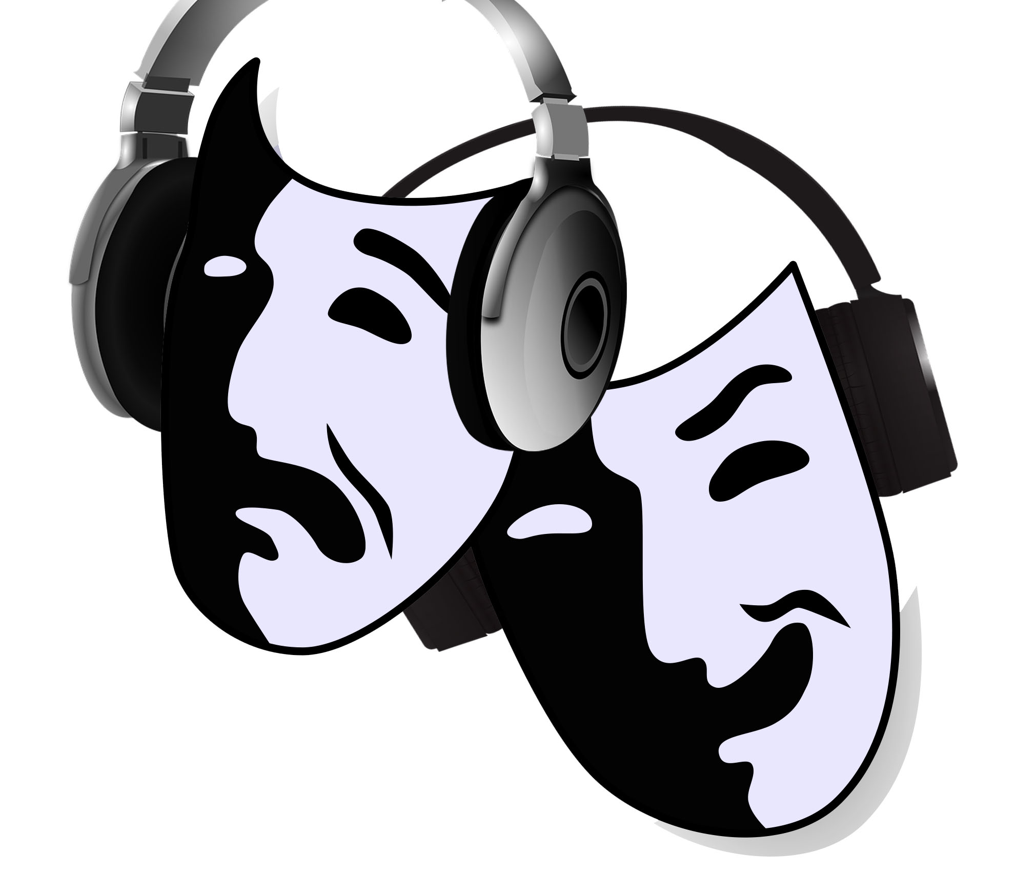 Actor clipart sound. Design for theater another