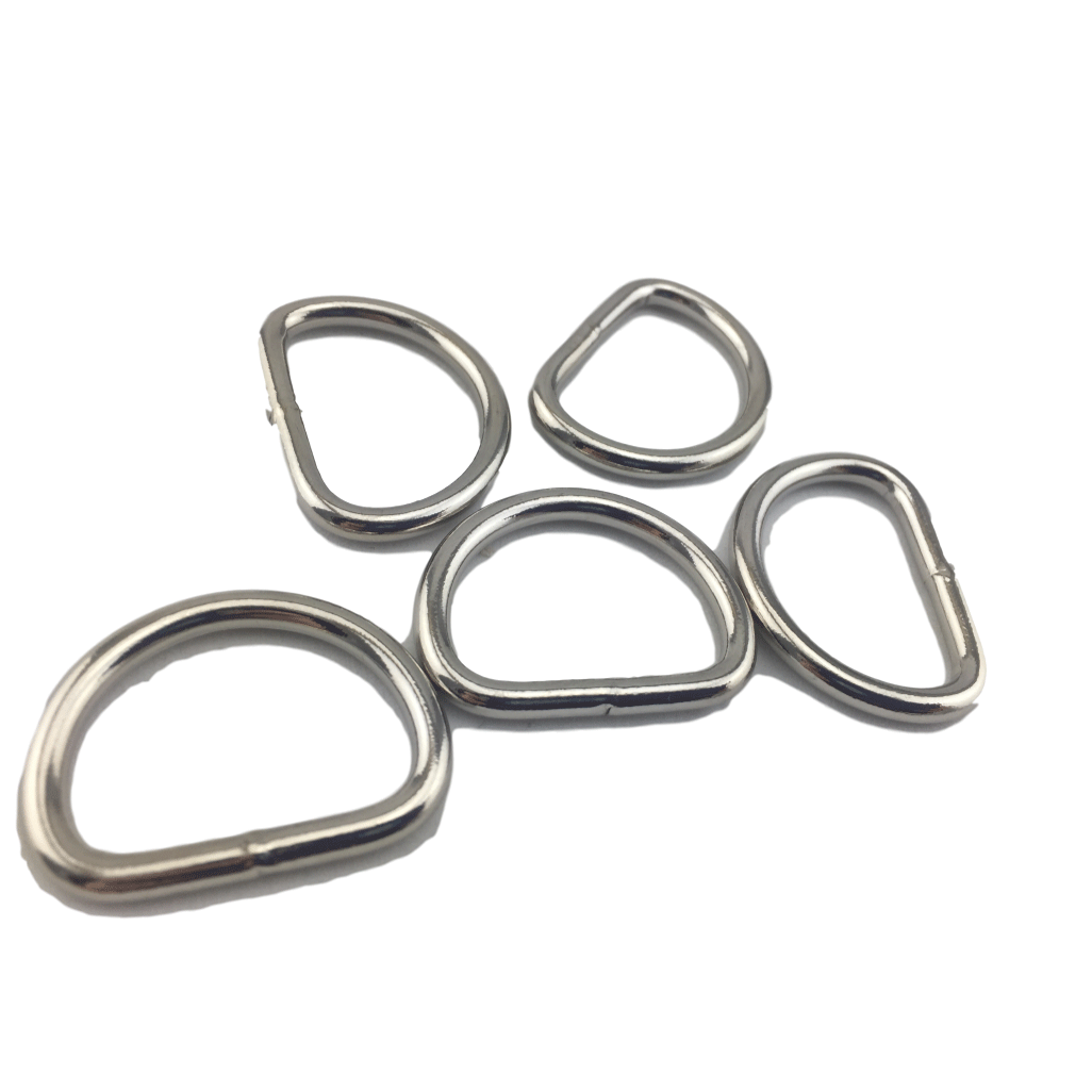 Dring clip hardware. D rings ring crafting
