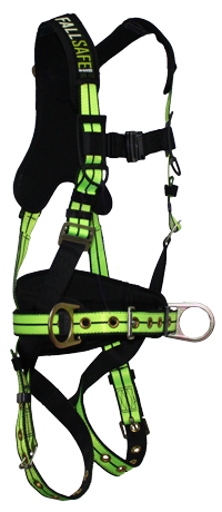 Dring clip harness. Fall safe flex single