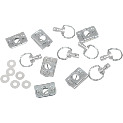 Dring clip padlock. Fastener dzus products parts