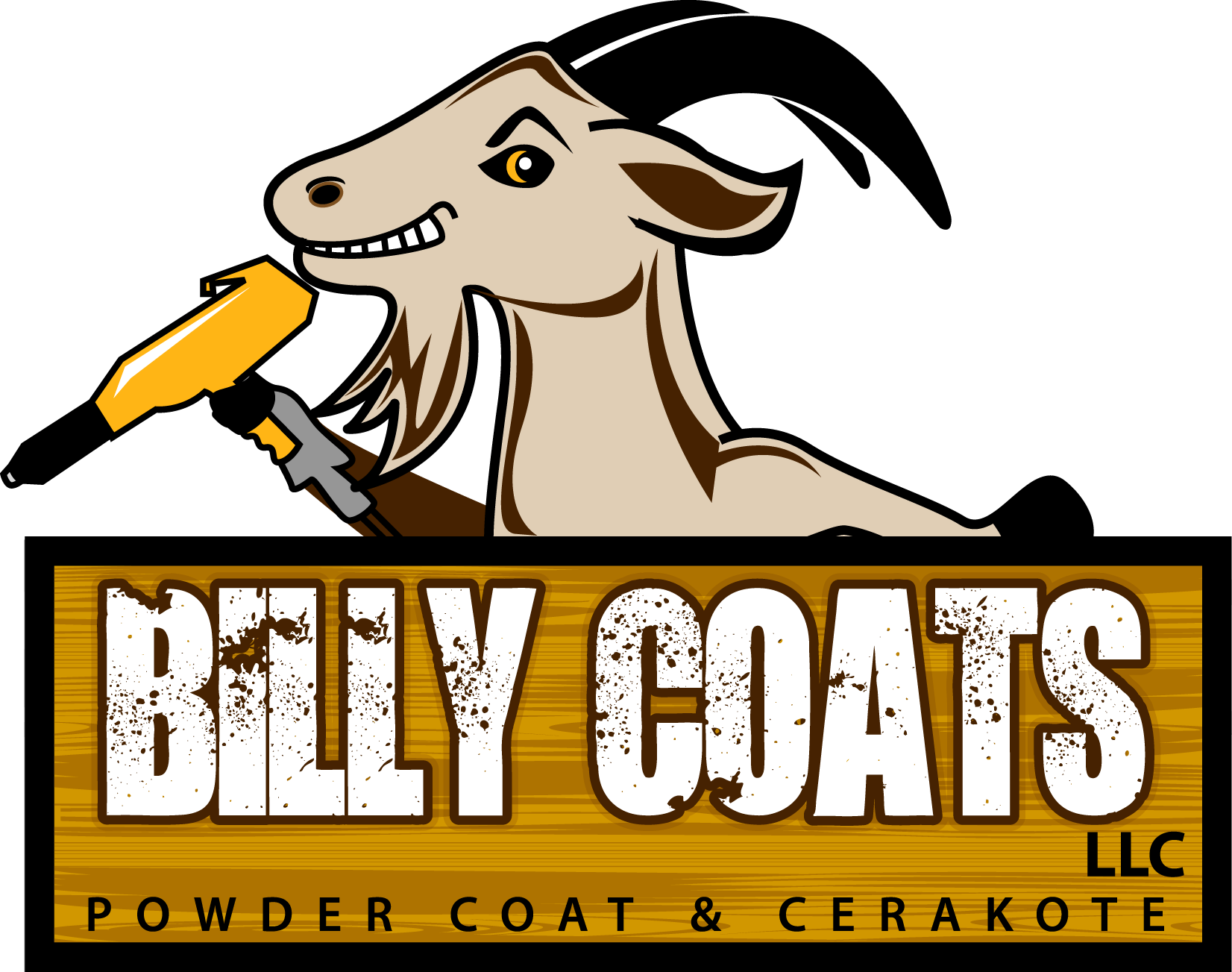 Dring clip powder coated. Billy coats llc coat
