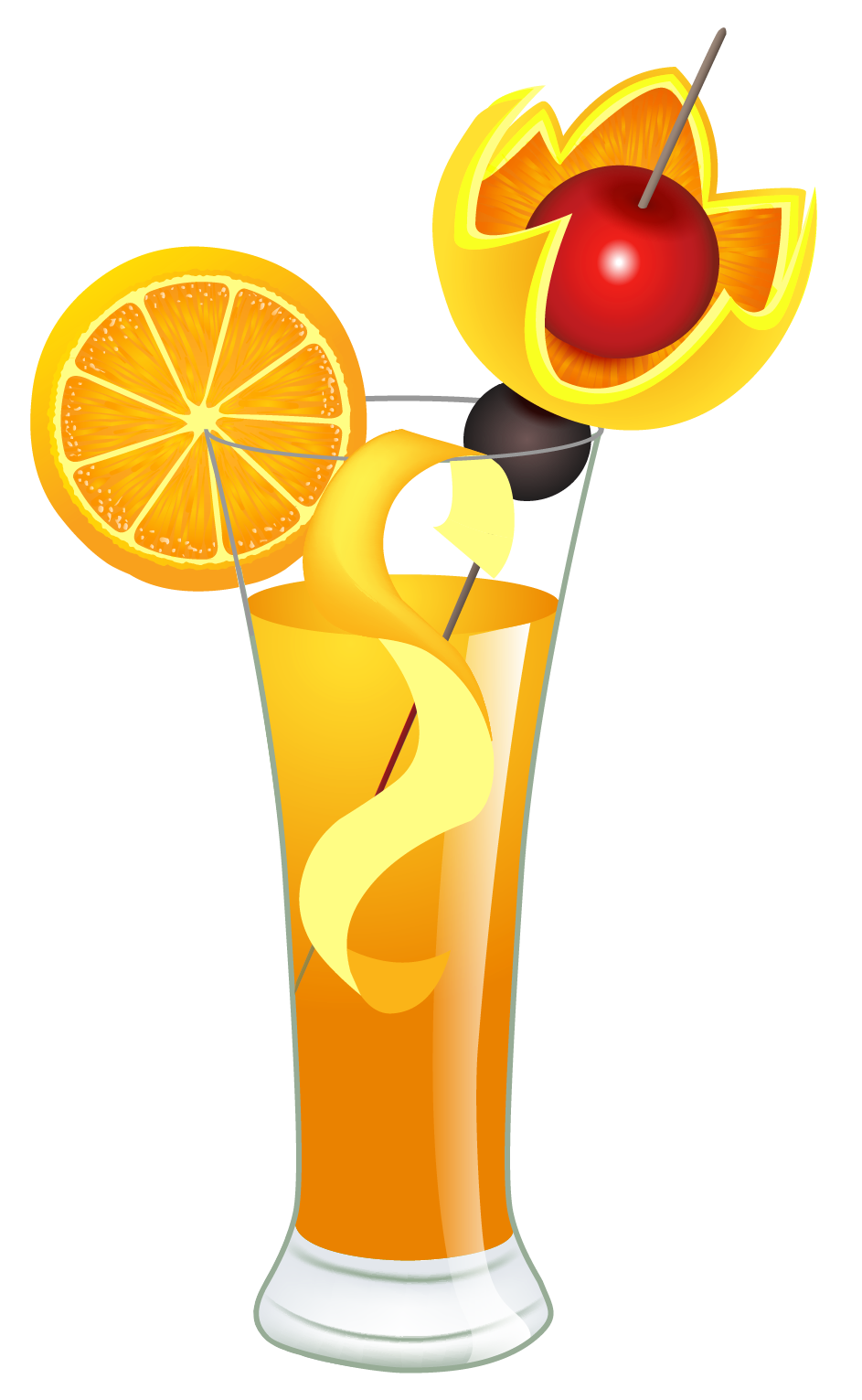 Drink clipart png. Orange cocktail picture gallery