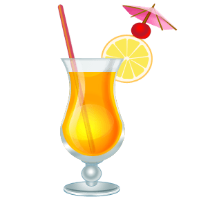 Drink clipart punch drink. Tropical drinks clip art