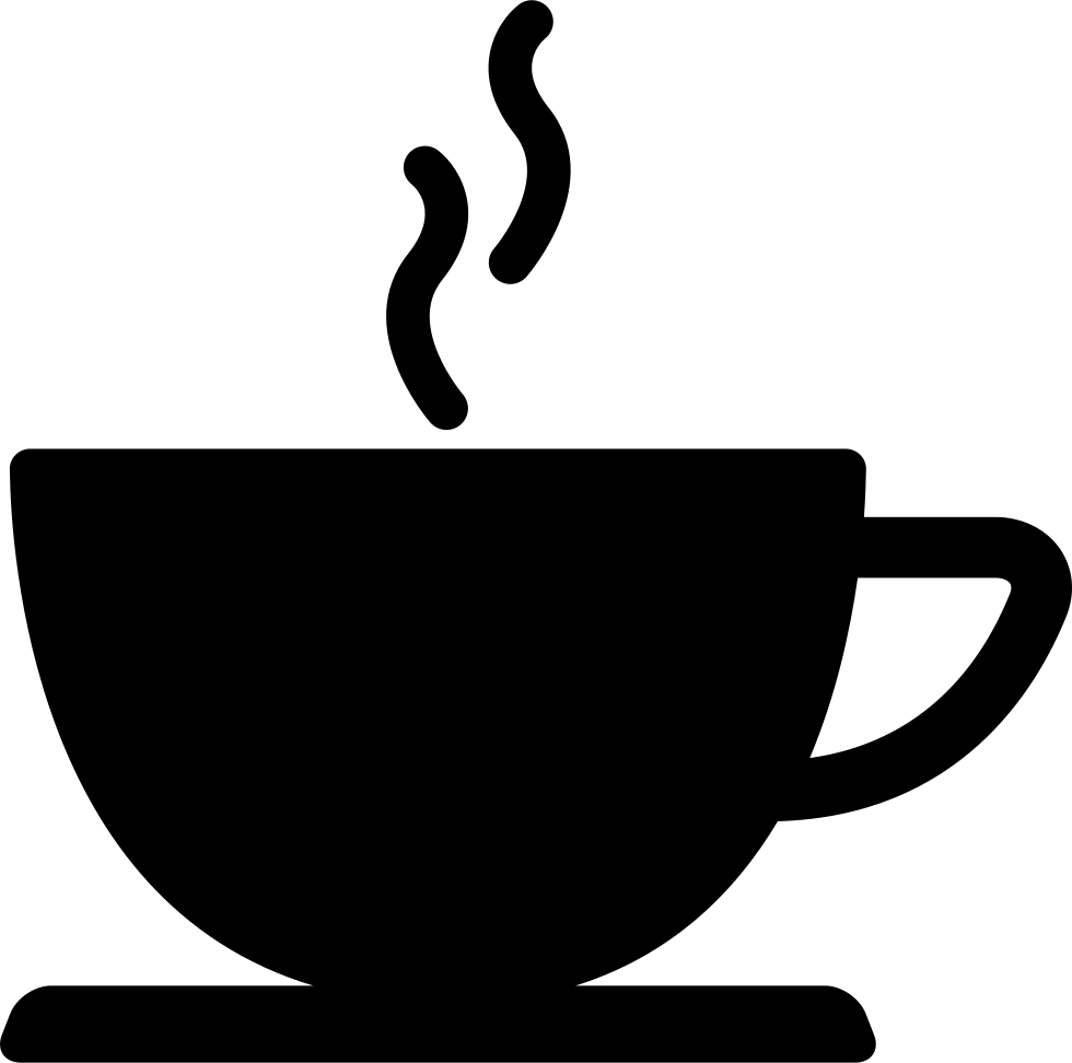 Drink silhouette png. Coffee cup of hot