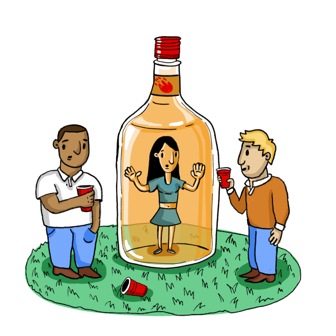 Drinking clipart liquor basket. Pass the hard ban