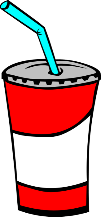 Drinks clipart. Of soda pop lemonade