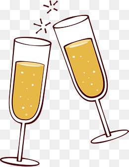 Drinks clipart cheer. Party cheers png images