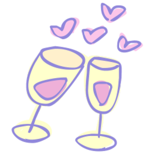 drinks clipart cheer