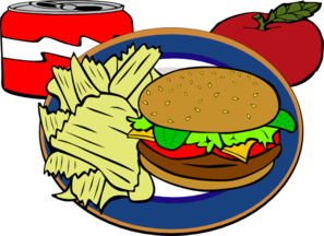 Drinks clipart chip drink. Fast food clip art