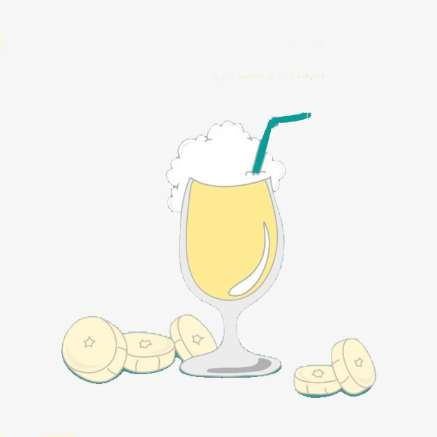 Drinks clipart chip drink. Meng figure banana milkshake