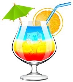 Drinks clipart clip art. Exotic cocktail png picture