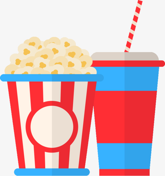 Drinks clipart popcorn. Watching food drink watch