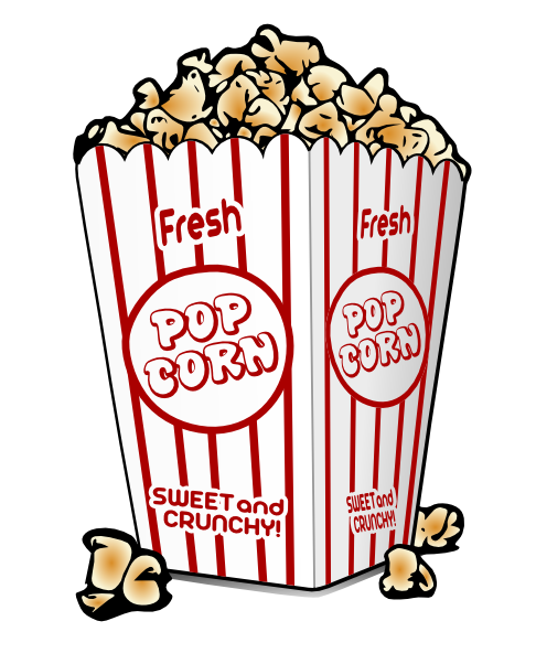 Drinks clipart popcorn. Free download clip art
