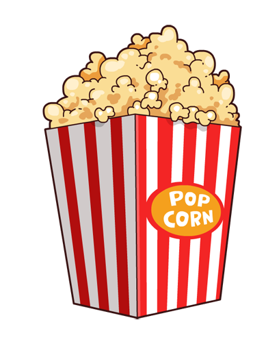Drinks clipart popcorn. Free food bucket cliparts