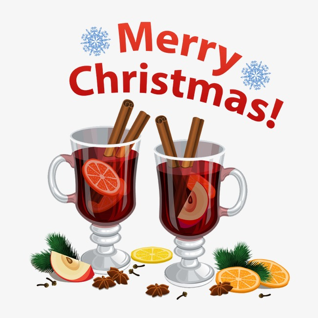 Drinks clipart refreshments. Christmas food lemon png