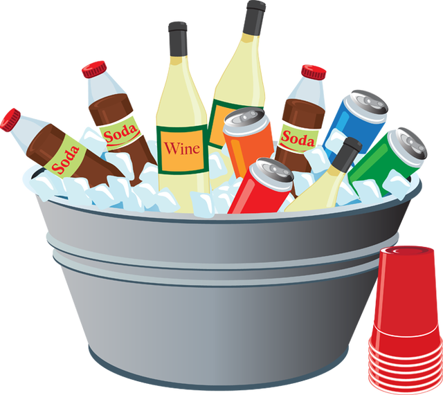 Drinks clipart refreshments. Free cliparts drink snacks