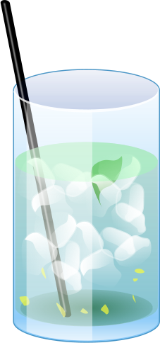Drinks clipart refreshments. Free picture of