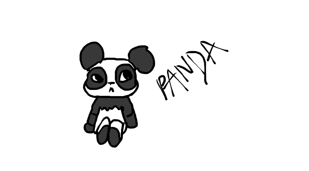 Drawing compositions bad. Panda by wxrlus on