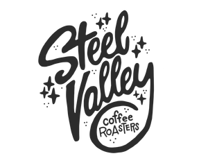 Colony drawing logo. Steel valley coffee roasters