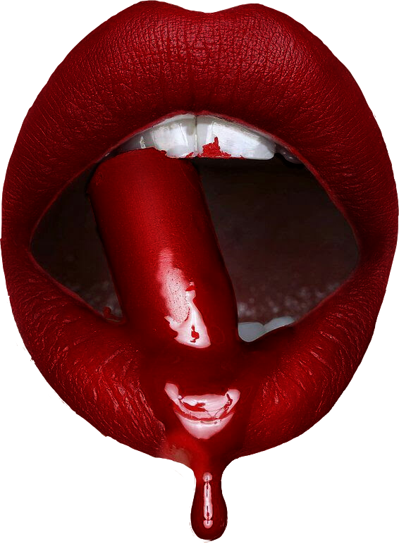 Drip lip png. Freetoedit sticker by claudiabelle