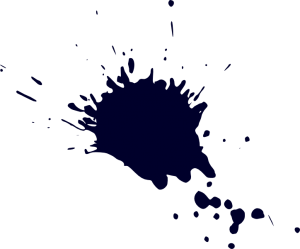 Drip transparent ink. Drop stain png