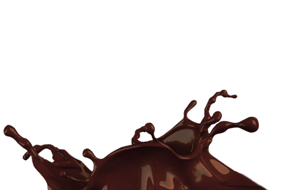 Dripping chocolate png. Splash transparent background mart
