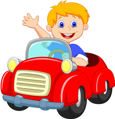 Driving clipart boy. Cars red car pinterest