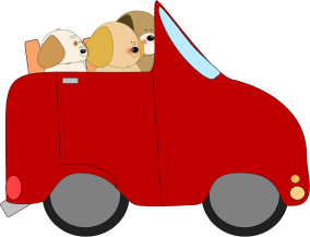Drive clipart car clipart. Dogs driving a clip